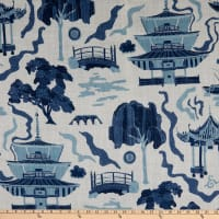 Chinois Digital Kumano Linen Indigo