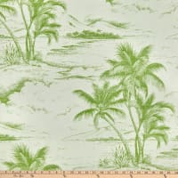Bella Dura Home Performance Outdoor Jacquard Seas The Day Lime