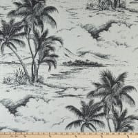Bella Dura Home Performance Outdoor Jacquard Seas The Day Ebony