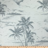 Bella Dura Home Seas The Day Outdoor Jacquard Charcoal