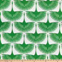 EXCLUSIVE Genevieve Gorder Outdoor Flock Kelly Green
