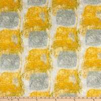 Kokka Kuiskaus Latakko Puddle Salt Shrink Lawn Plisse Yellow