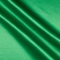 Matte Satin (Peau De Soie) Fabric - Kelly Green