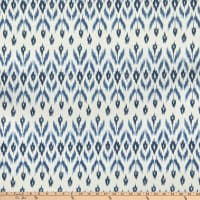 Laura & Kiran Garland Ikat Print Blues