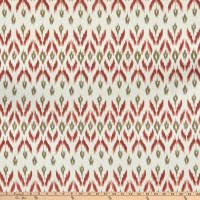 Laura & Kiran Garland Ikat Print Duck Clay