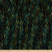 Fabtrends Rib Knit Suede Abstract Texture Teal