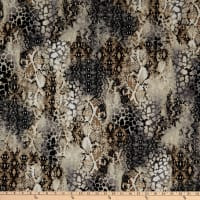 Fabtrends Dty Animal Snake Skin Taupe
