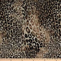 Fabtrends Dty Animal Leopard Black Taupe