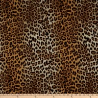 Fabtrends Dty Animal Leopard Gold