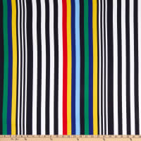 Fabtrends Washer Ghost Variegated Stripe Royal/Yellow