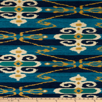 AMERICAN MADE Artistry Tribal Southwest Vocado Chenille Jacquard Lapis