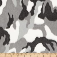 Shannon Minky Luxe Cuddle Camo Gray