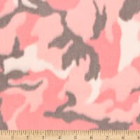 Shannon Minky Luxe Cuddle Camo Pink