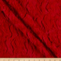 Shannon Minky Luxe Cuddle Glacier Red