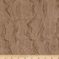 Shannon Minky Luxe Cuddle Glacier Simply Taupe