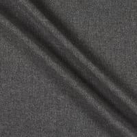 Wool Flannel Worsted Medium Grey