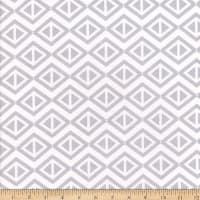 Flannel Geometric Grey