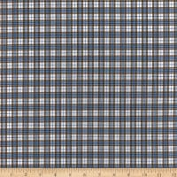 Oxford Shirting Plaid Moss