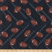 Polyurethane Laminate Football Navy