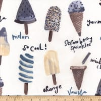 Polyurethane Laminate Ice Cream White