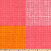 Marimekko Fall 2020 Verkko Cotton Broadcloth Orange/Red/Pink