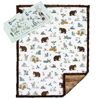 Shannon Minky Cuddle Kit Read to Me Forest