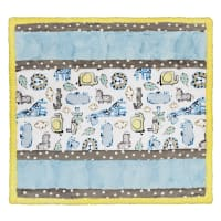Shannon Minky Cuddle Kit Wee Ones Lion Around Blue