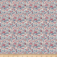Liberty of London Flower Show Winter Forget Me Not Pink/Blue