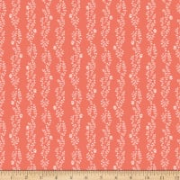 Riley Blake New Dawn Clover Stripe Coral