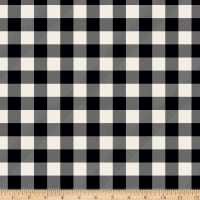 Riley Blake Designer Flannel Christmas Plaid Black
