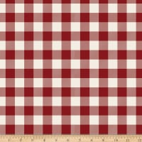 Riley Blake Designer Flannel Christmas Plaid Red