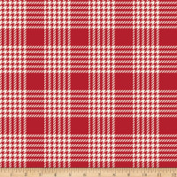 Riley Blake Designer Flannel Yuletide Plaid Cream