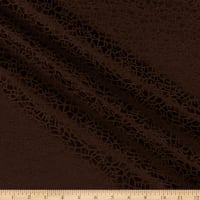 Craze Textured Jacquard Woven Brown