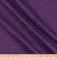 Craze Textured Jacquard Woven Purple