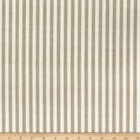 Big Duck Canvas Windmill Linen Bengal Stripes Taupe