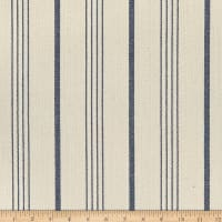 Big Duck Canvas Windmill Linen Chalk Stripes Navy