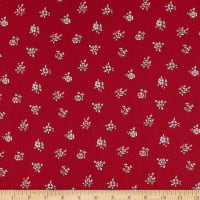 Liberty of London Flower Show Winter Abbeywood Red/White