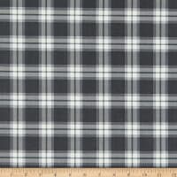 Riley Blake My Heritage Plaid Charcoal