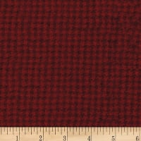 Wool Houndstooth (8 Yard Bolt) Red