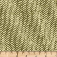 Wool Dot Green