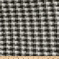 Telio Houndstooth Stretch Jacquard Ecru/Black