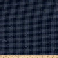 Telio Houndstooth Stretch Jacquard Denim