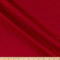 Telio Quilted Knit Red