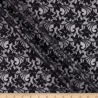Small Floral Lace Black