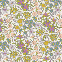 Art Gallery Hooked Rayon Challis If They Were Real Light Lilac/Pink/Green/White