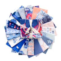 Art Gallery Exclusive Bundle InBlue Collection Fat Quarters Multi 20 pcs