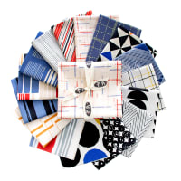 Art Gallery Exclusive Bundle Aligned Capsule Collection Fat Quarters Multi 16 pcs
