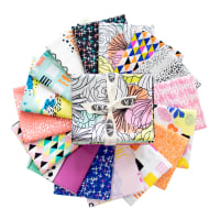 Art Gallery Exclusive Bundle Here Come the Fun Collection Fat Quarters Multi 16 pcs