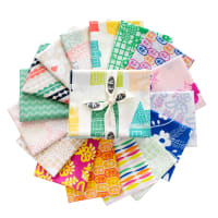 Art Gallery Exclusive Bundle Happy Home Collection Fat Quarters Multi 16 pcs