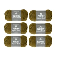 Patons Alpaca Blend Lichen Pack of 6